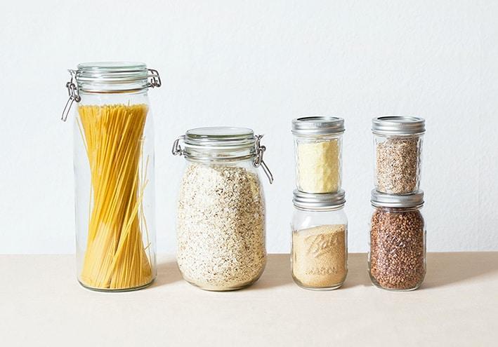 Foto unverpackte Lebensmittel